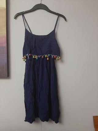 vestido borlas marca mulaya