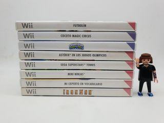 8 JUEGOS Wii