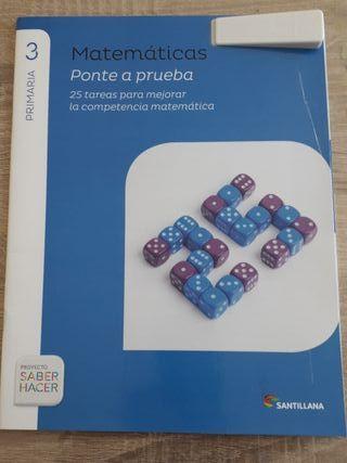 Libro Matemáticas Sisius 3o