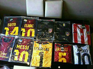 Vendo nuevas camisetas de fútbol