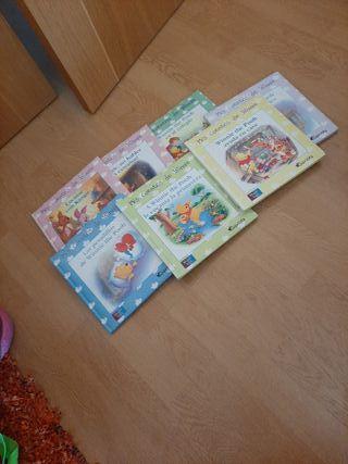 7 libros de Winnie the Pooh