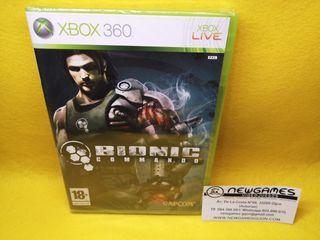 Bionic Commando (NUEVO) - xbox360