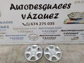 """Pareja tapacubos """"15 Dacia Sandero"""