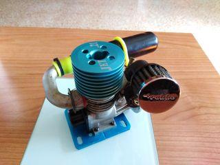 Motor Bycmo Rc Jet 21 completo 1/8 1/7 + Depósito