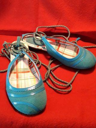 Sandalias cordón