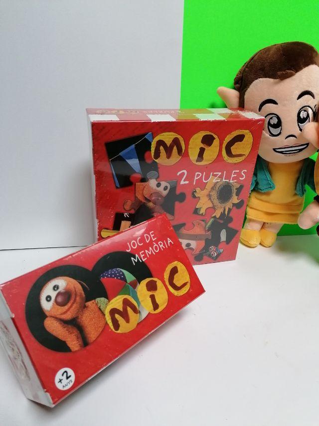 JUEGO DE MEMORIA Y PUZZLE MIC NUEVO PRECINTADO!!