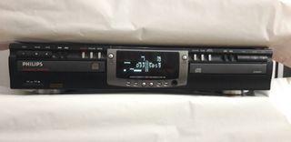 Grabadora doble disco Philips cdr 765