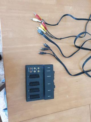 Regalo euroconector y cables