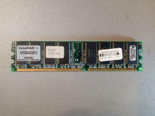 DDR 266 512mb kingston