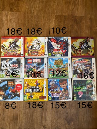 Juegos nintendo 3DS XL