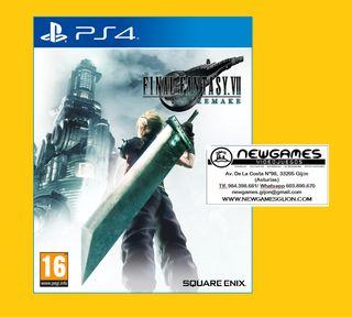 Final Fantasy Remake - PS4 - NUEVO