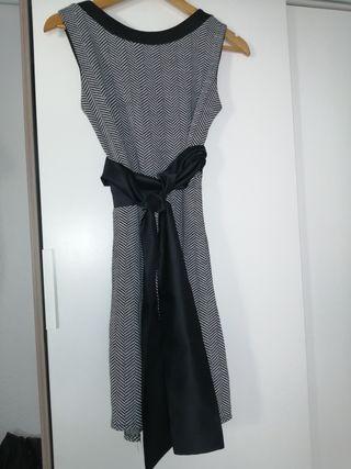 Vestido jaspeado