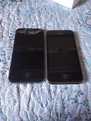 iPhone 4s funcionando:+ iPhone 4 para piezas