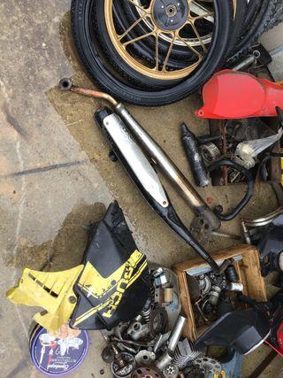 Despiece moto puch condor variant, vespino