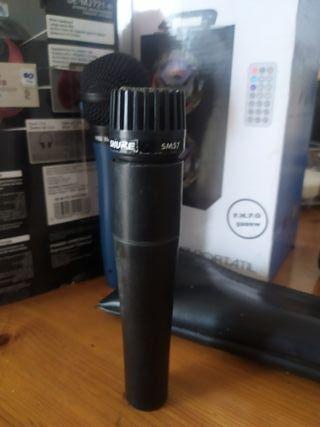 Microfono Shure SM57 original americano