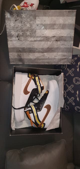 Nike Air Force 1 Mid Tisci White