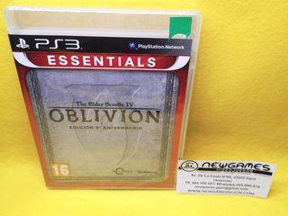 Oblivion Edición 5 aniversario (NUEVO) - ps3