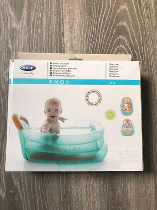 Bañera hinchable bebe