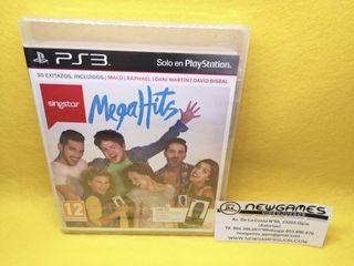 Singstar Megahits (NUEVO) - ps3