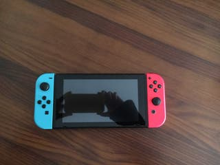 Nintendo switch baneada