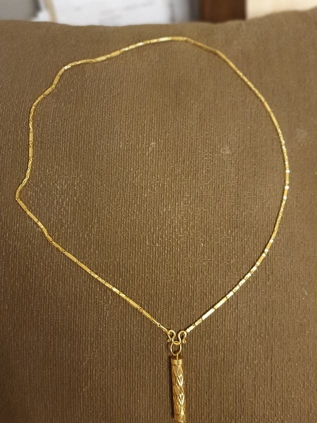 necklace gold 22 carat