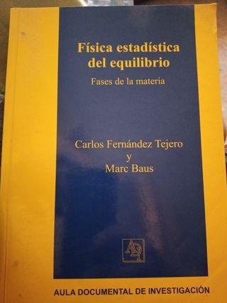 Libro física estadística del equilibrio, fases de