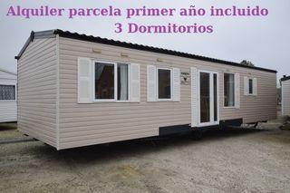 Casa movil en camping Navarra abierto todo año