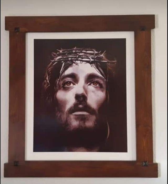 cuadro Rostro de Jesucristo.