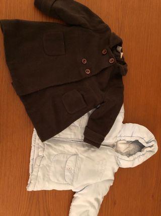 Lote chaquetas bebé y. 6-12 meses