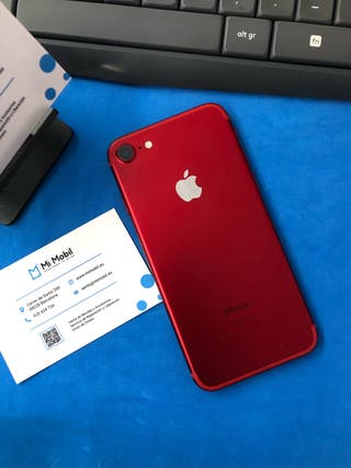 IPHONE 7 128GB RED/ROJO IMPECABLE