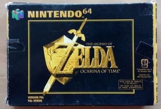 N64 Zelca Ocarina of Time