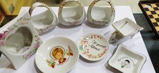 Lote de Porcelana Antigua Estado Nuevo
