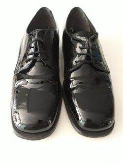 Zapatos negros de charol caballero 26,5