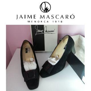 De 160€ a 29.95€ T.36 Zapatos negros Mascaró tacón