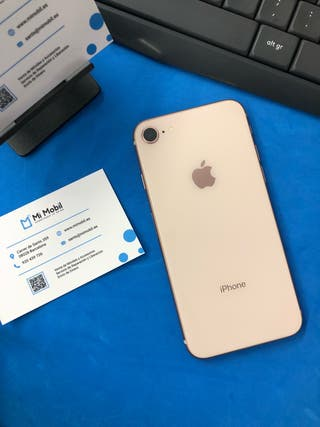 iphone 8 64gb oro rosa usado impecable