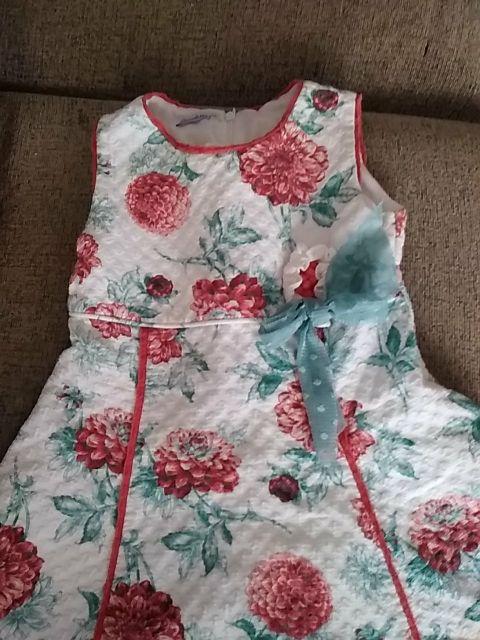 precioso vestido de niña