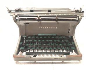 Maquina escribir antigua UNDERWOOD ELLIOT FISHER