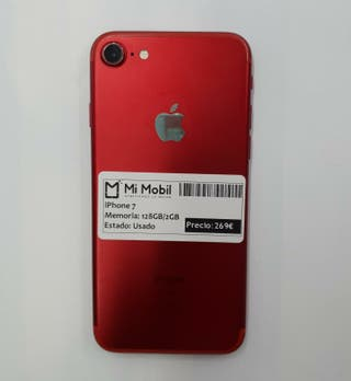 IPHONE 7 128GB RED - USADO
