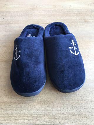 Zapatillas casa hombre talla 44-45 abrigo