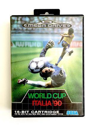 WORLD CUP ITALIA 90 - mega drive