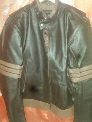moto chaqueta piel autentica