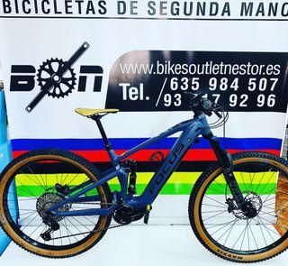 Bicicleta eléctrica Focus Jam2 6.8 nine 2020 test