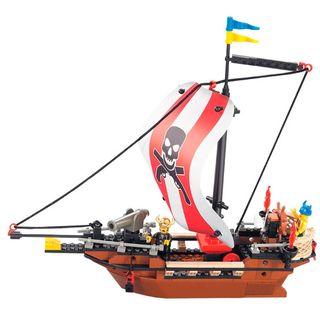 Barco de construcción compatible con LEGO