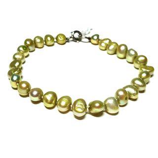Pulsera plata 925 y perlas cultivadas. Nueva.