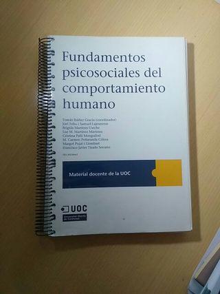 fundamentos psicosociales del comportamiento human