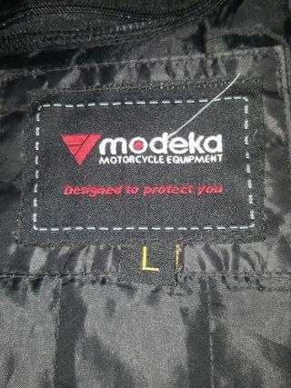 chaqueta moto cordura marca modeka talla L