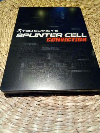Tom Clancy splinter cell conviction xbox 360