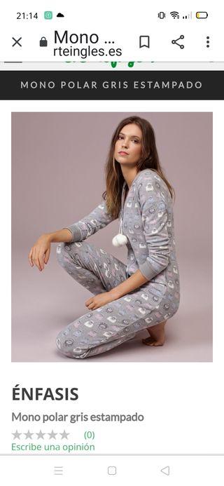 Mono pijama con etiqueta