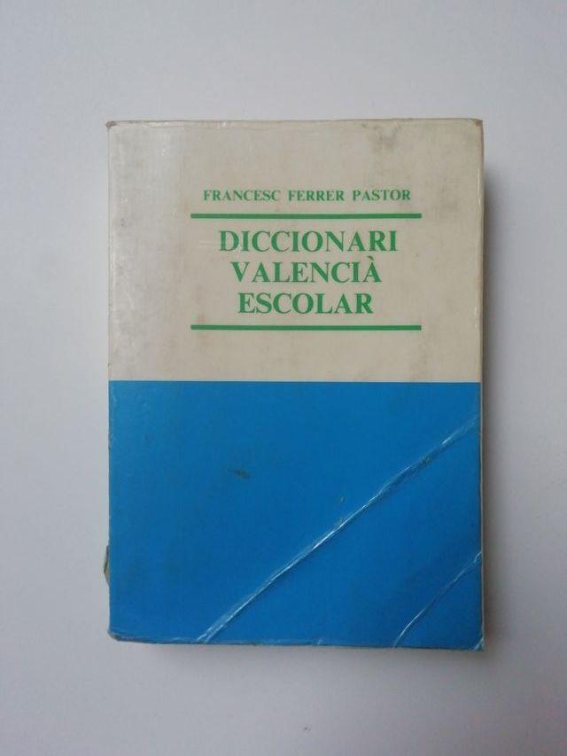 Diccionari escolar valencià