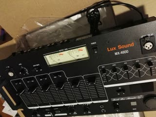 Mesa de mezclas para Dj LuxSound a estrenar